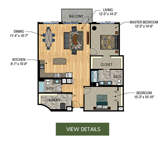 Downtown Minneapolis Condos for Sale - The Legacy Unit 224
