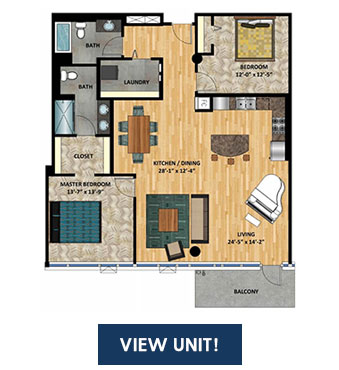 Minneapolis Lofts and Condos for Sale - Portland Tower Unit 1715