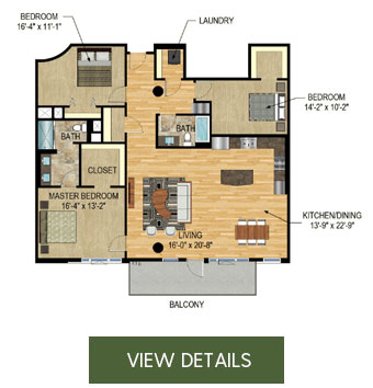 The Legacy Minneapolis - New Construction Condos for Sale - Unit 1221