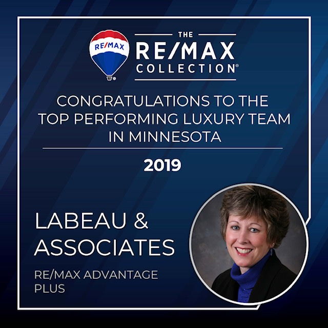 2020 Top Performing Luxury Team in Minnesota